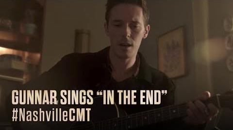 "NASHVILLE on CMT Gunnar Sings ""In The End"""
