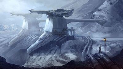 Fortress-Scifi-Hd-Desktop-Wallpaper