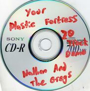 Your Plastic Fortress 20 Track Demo Disc