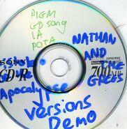 Pistolero of the Apocalypse 6 Track Demo Disc
