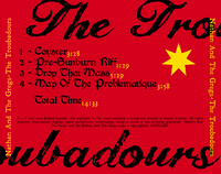 The Troubadours - Tray Card Back