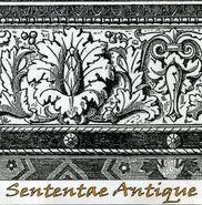 Sententae Antique 2 Track Demo Front