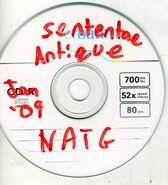 Sententae Antique 2 Track Demo Disc