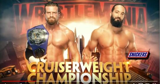 (233) Wrestlemania 35 Buddy Murphy vs Tony Nese - Official Match Card - YouTube