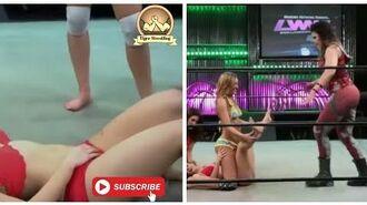 Ring Divas Women Wrestling OMG , 3 Girls vs 1 Girls