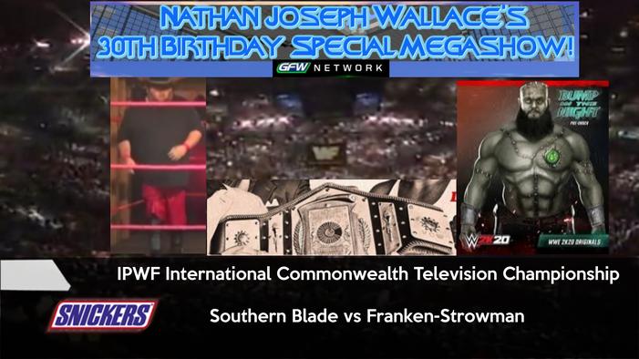-Nate30 IPWF Inter Commonwealth tv title match