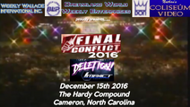 Final conflict 2016