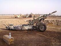 M102 Howitzer A1206 Tai Iraq 2004
