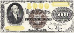 5000 dollars 1878