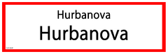 Hurbanova RS Sign
