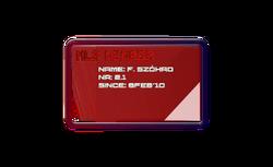 NLS membership card