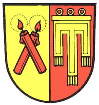 Candles and Candles - Kirchdorf an der Iller Wappen
