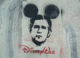 Street art by Ferenc Szóhad