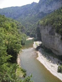 Bonney river gorges
