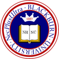 Seal of Blackburn University
