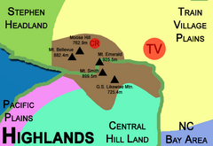 Highlands Map 1