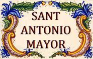 SANT ANTONIO MAYOR SIGN