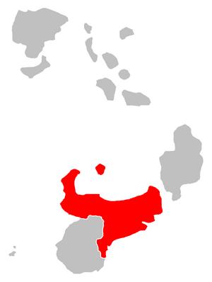 State map Sylvania