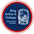 Seal of the King Arthur II College.png