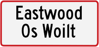 Eastwood sign