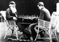 Arthur II and Arthur III play chess together.png