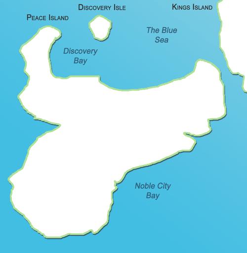 Peace Island Map 2