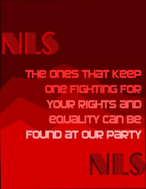 NLS poster