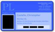 Christopher Costello PL Membership