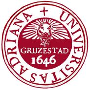 Grijzestad University seal