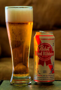 Pabst Red Ribbon Pint