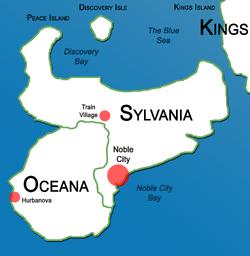 Peace Island Map 1