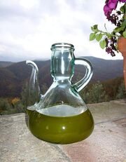 New olive oil just pressed