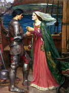 440px-John william waterhouse tristan and isolde with the potion