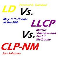 Poster for 2010 debate