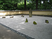Portland Japanese gardens zen garden