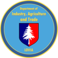 Seal of the Department of Industry, Agriculture and Trade.png