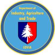 Seal of the Department of Industry, Agriculture and Trade