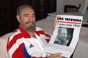 Castro reads