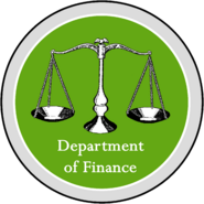 Seal of the Department of Finance