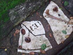 Princess' Park gutter stones