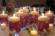 Candles & Candles - 800px-Floating wedding candles