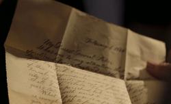 Queen Victoria Letter Open