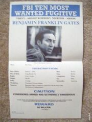 Ben Gates Wanted