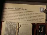 John Wilkes Booth's Diary