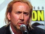Nicolas Cage at Kick-Ass panel at WonderCon 2010 1
