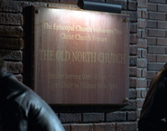 Old Church Sign