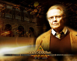 Jon Voight in National Treasure Book of Secrets Wallpaper
