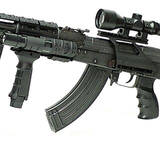 A highly specialized AK-47 used by Porschestani Recon Force soldiers.