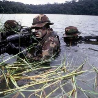 Porschestani Recon Force soldiers in action along the Costa Rica/Nicaragua border.