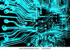 Stock-photo-abstract-background-of-glowing-blue-computer-circuitry-15034027
